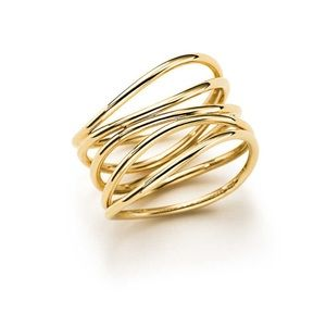 Tiffany Elsa Peretti Wave Ring